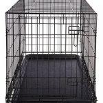 AmazonBasics Cage pliante en métal avec 1porte pour chien TailleL de la marque AmazonBasics image 5 produit