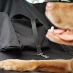 AmazonBasics Housse de protection de banquette arrière imperméable de type hamac pour animaux domestiques de la marque AmazonBasics image 1 produit