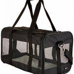 AmazonBasics Sac de transport à parois souples pour animal de compagnie Noir TailleL de la marque AmazonBasics image 1 produit