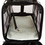 AmazonBasics Sac de transport à parois souples pour animal de compagnie Noir TailleL de la marque AmazonBasics image 6 produit