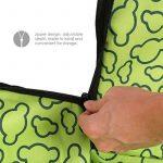Amzdeal Tapis de Protection étanche Lavable Hamac/Couverture/Housse de Protection pour les sièges arrière de Voiture Pour chien/chat pendant Voyage-Avec impression des Micky-Vert de la marque Amzdeal image 5 produit