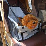 Anself étanche Siège d'auto pour animaux respirant hamac avec ceinture sécurité de Banquette Arrière de Voitureprotecteur pour chien chat chiot animaux domestiques de la marque Anself image 1 produit