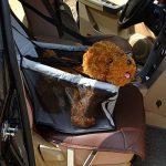 Anself étanche Siège d'auto pour animaux respirant hamac avec ceinture sécurité de Banquette Arrière de Voitureprotecteur pour chien chat chiot animaux domestiques de la marque Anself image 4 produit