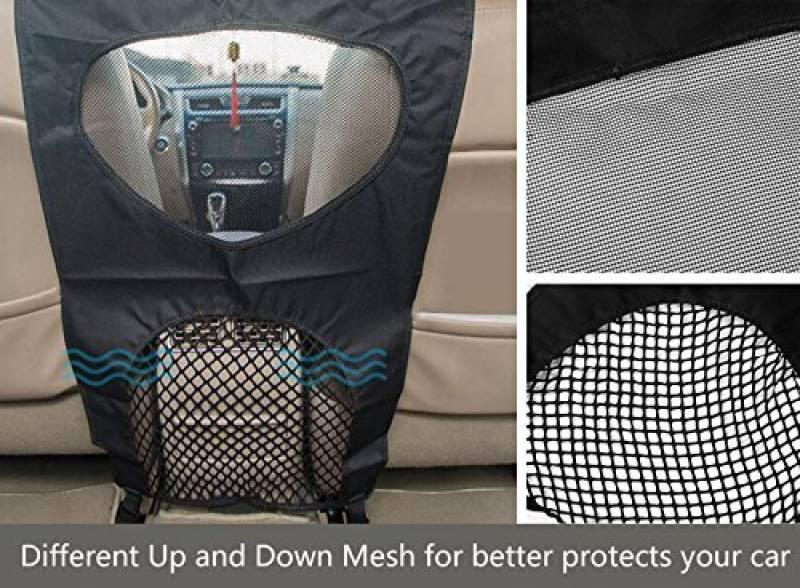 Lifepul Voiture Filet de Protection pour Chiens,Barri/ère Mesh Obstacle pour garder vos animaux de compagnie tr/ès conforme /à SUV et Camion