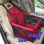 Buwico - Housse de transport pour animal domestique avec ceinture de sécurité - Sac étanche, tapis de coussin de voiture pour chien et chat de la marque Buwico image 1 produit