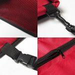 Buwico - Housse de transport pour animal domestique avec ceinture de sécurité - Sac étanche, tapis de coussin de voiture pour chien et chat de la marque Buwico image 3 produit