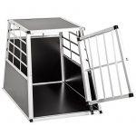 Cage de transport chien aluminium pour transport en voiture single (65/90/69,5cm) de la marque TecTake image 2 produit