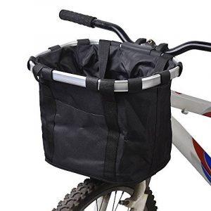 Docooler Panier de Vélo Détachables Cycle Avant Toile Panier Transporteur Sac Pet Carrier en Alliage d'Aluminium de la marque Docooler image 0 produit