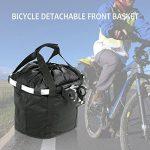 Docooler Panier de Vélo Détachables Cycle Avant Toile Panier Transporteur Sac Pet Carrier en Alliage d'Aluminium de la marque Docooler image 1 produit