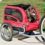 DOGGYHUT Remorque pour chien moyen avec kit de joggeur ROUGE 70301-01 de la marque Doggyhut image 1 produit