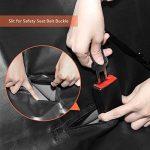 GHB Housse pour Chien Voiture Protection pour Voiture Couverture pour Chien Double Zips Imperméable et Anti-Rayures Universelle pour Voiture Camion SUV-Noir de la marque GHB image 3 produit