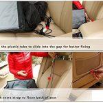 Housse de Siège Auto pour Chien/Chat, Protection de Siège avant de Voiture Antidérapant Imperméable pour tous les Types de Voiture avec un Gant de Toilettage, 45 x 45 x 58cm de la marque Amorus image 5 produit