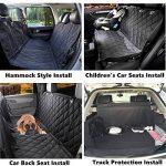 Housse de voiture pour chien transport protection siège ; faire des affaires TOP 6 image 2 produit