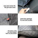 Housse de voiture pour chien transport protection siège ; faire des affaires TOP 9 image 3 produit