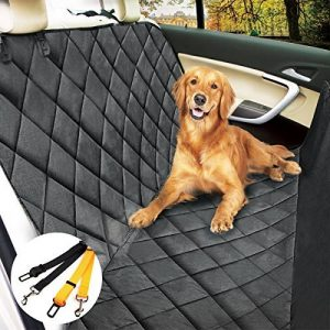 Housse voiture chien/chat, Morpilot Protection de siège auto imperméable anti-rayures + 2 Ceintures sécuritaires (147cm x 137cm) - Taille universelle pour Voiture Camion SUV de la marque morpilot image 0 produit