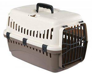 KERBL Box de Transport Expédition pour Chiens 45 X 30 X 30 cm Crème/Taupe de la marque Kerbl image 0 produit