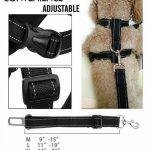 Lifepul Chien Sécurité Vest Harness, Pet Dog Veste Réglable avec Voiture Nylon Ceinture de Sécurité Clip de Plomb pour le Transport de la marque lifepul image 5 produit