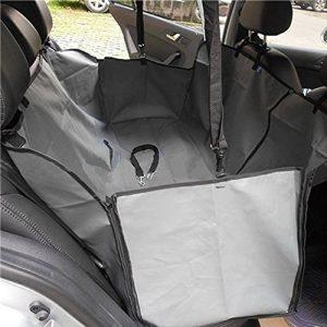 Minidiva Étanche pliable Hamac sécurité Dog Car Seat Cover pour animaux domestiques (Gris) de la marque MINI MIGNON image 0 produit
