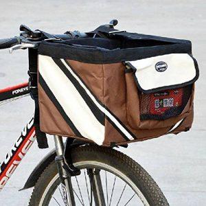 Olayer Petit panier de transport pour animaux pour guidon de vélo Avec poches pour gourmandises pour chien de la marque Olayer image 0 produit