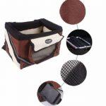 Olayer Petit panier de transport pour animaux pour guidon de vélo Avec poches pour gourmandises pour chien de la marque Olayer image 2 produit