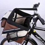 Olayer Petit panier de transport pour animaux pour guidon de vélo Avec poches pour gourmandises pour chien de la marque Olayer image 4 produit