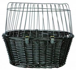 Panier pour Chien / Chat avec Coussin - Couleur Noir - Taille 50 x 41 x 35 cm de la marque Trixie image 0 produit