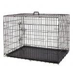 PAWZ Road Caisse pliante pour chien Cage pliante chien chenil pour animal de compagnie Cage avec 2 portes et plateau plastique Caisse chien pour coffre pour le gros chien 5 tailles completes (Taille:XXL) de la marque Pawz Road image 3 produit
