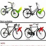 Pliable pour vélo avec panier en maille métallique, shayson Panier pour vélo pour guidon de vélo avant pliable pour chien Panier De Rangement Pour hayon pour Mountain Bike Lift Off arrière pour vélo à suspendre?Argent de la marque Shayson image 3 produit
