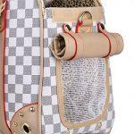 Sac de transport pour chiens sac pour chats chiens sac de voyage animal grand sac de transport pour animal domestique jusqu'à 5 kg 40*30*20 cm de la marque BELLAMORE image 5 produit