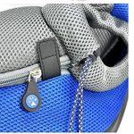 Sac de transport solide sac de voyage transporteur sac de bandoulière pour petit chien chiot chat etc. S/M de la marque OMGO image 4 produit