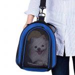 Sacs de Transport pour Petit Chien Chat Sac Chien pour Transport Sac Pliable pour Animal Domestique avec Coussin Souple Blue de la marque BabycarePro image 2 produit