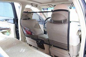 T Tocas (tm) Portable Filet de protection Voiture 115cmx 62cm pour chien (Large(Noir) de la marque T Tocas image 0 produit