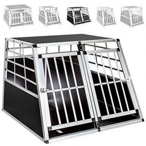 TecTake Cage Box Caisse de Transport pour Chien Mobile Aluminium - diverses tailles au choix - (Double/grand | No. 400652) de la marque TecTake image 0 produit