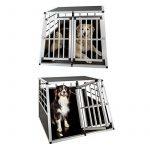 TecTake Cage Box Caisse de Transport pour Chien Mobile Aluminium - diverses tailles au choix - (Double/grand | No. 400652) de la marque TecTake image 4 produit