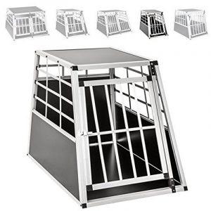 TecTake Cage Box Caisse de Transport pour Chien Mobile Aluminium - diverses tailles au choix - (Simple/grand | No. 400651) de la marque TecTake image 0 produit