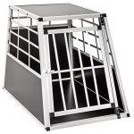 TecTake Cage Box Caisse de Transport pour Chien Mobile Aluminium - diverses tailles au choix - (Simple/grand | No. 400651) de la marque TecTake image 1 produit