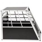 TecTake Cage Box Caisse de Transport pour Chien Mobile Aluminium - diverses tailles au choix - (Simple/grand | No. 400651) de la marque TecTake image 4 produit