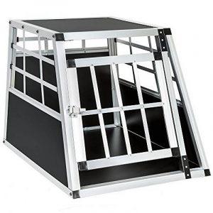 TecTake Cage box caisse de transport pour chien mobile aluminium single 54x69x50cm de la marque TecTake image 0 produit
