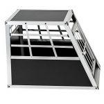 TecTake Cage box caisse de transport pour chien mobile aluminium single 54x69x50cm de la marque TecTake image 3 produit