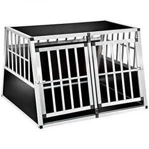 TecTake XXL Cage box caisse de transport aluminium en forme de trapèze pour chien (lxPxH): 104 x 91 x 69,4 cm de la marque TecTake image 0 produit
