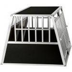 TecTake XXL Cage box caisse de transport aluminium en forme de trapèze pour chien (lxPxH): 104 x 91 x 69,4 cm de la marque TecTake image 4 produit