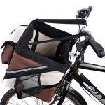 Treat Me Siège Panier de Vélo Sac de Transport en Avant pour Animal Chien Chiot Chat Voyage 38*25*25cm de la marque Treat Me image 4 produit