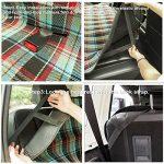 Uniflow en Chien Hamac étanche arrière de voiture Housse de siège Couverture antidérapant d'écran avec Velcro Vert convertible 177,8 cm 142,2 cm pouces pour camion véhicule SUV lavable en machine de la marque Ispecially image 2 produit
