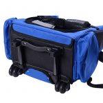 2 en 1 Trolley chariot sac à dos sac de transport à roulettes pour chien chat neuf 11 de la marque Pawhut image 6 produit