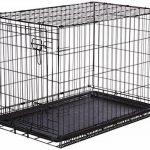 AmazonBasics Cage pliante en métal avec 1porte pour chien TailleL de la marque AmazonBasics image 2 produit