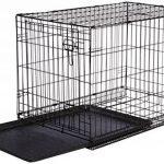 AmazonBasics Cage pliante en métal avec 1porte pour chien TailleL de la marque AmazonBasics image 4 produit