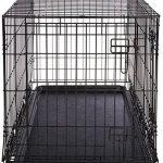AmazonBasics Cage pliante en métal avec 2portes pour chien TailleL de la marque AmazonBasics image 5 produit