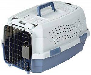 AmazonBasics Caisse de transport pour animal domestique 2portes dont 1sur le dessus 48cm de la marque AmazonBasics image 0 produit
