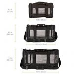 AmazonBasics Sac de transport à parois souples pour animal de compagnie Noir TailleL de la marque AmazonBasics image 4 produit