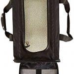 AmazonBasics Sac de transport à parois souples pour animal de compagnie Noir TailleL de la marque AmazonBasics image 5 produit